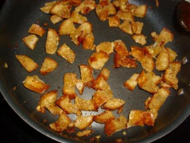 Schweineschulter gekocht mit scharfer Meerrettichsauce und Klößen - Rezept - Bild Nr. 3