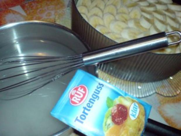 Pudding-Bananen-Dessert - Rezept - Bild Nr. 7