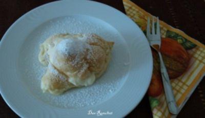 Windbeutel mit Vanillecreme- Füllung - Rezept