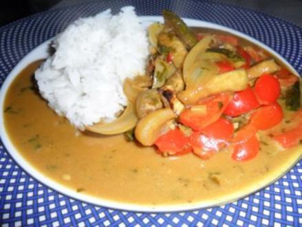 Gemüse asiatisch - Rezept