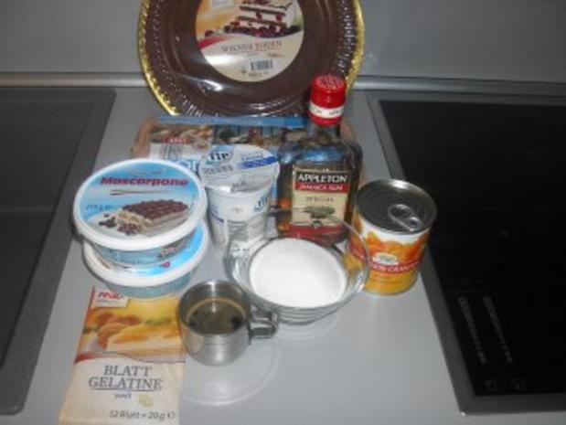 Mandarinen - Mascarpone - Torte - Rezept - Bild Nr. 3