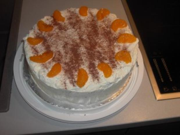 Mandarinen - Mascarpone - Torte - Rezept - Bild Nr. 4