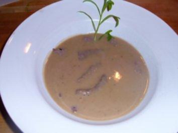 Maronensuppe mit Streifen vom Tafelspitz - Rezept