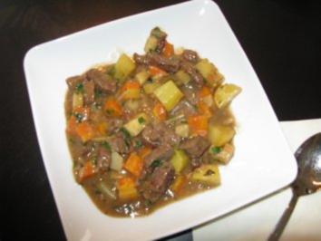 Rindfleisch Gemüseeintopf - Rezept