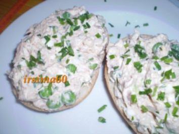 Thunfischaufstrich - Rezept