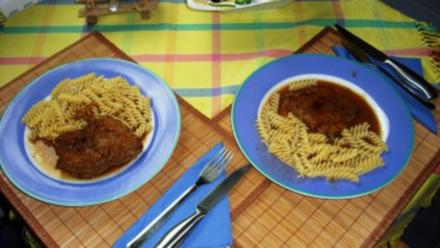 Saltimbocca an Marsala-Sauce - Rezept