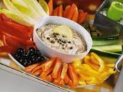 Gemüsesticks zu Thunfisch-Dip - Rezept