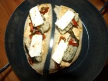 Fladenbrot griechisch überbacken - Rezept