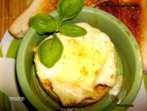 Camembert aus dem Backofen - Rezept