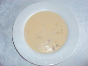 Käse-Lauch Suppe - Rezept