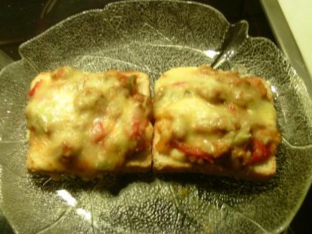 Bolognese-Toast - Rezept