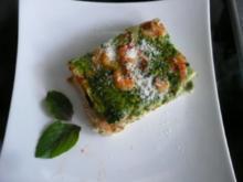 TARTE/PIZZA:GEMÜSE-FISCH & Minipizzen - Rezept