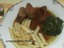 Hirschfilets in Pflaumensoße - Rezept