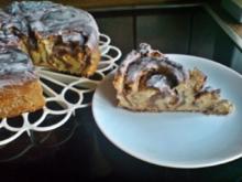 Kuchen - Rosenkuchen - Rezept