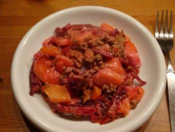 Rezept: Rote Beete Auflauf