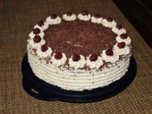 Schwarzwälderkirsch Torte - Rezept
