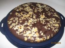 Mandel - Schoko - Kuchen - Rezept