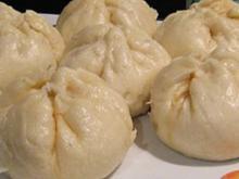 Mongolische Teigtaschen (frittiert oder gedünstet) - Rezept
