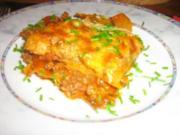Bolognese Lasagne mit frischen Tomätchen - Rezept