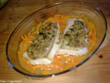 Gratiniertes Fischfilet - Rezept