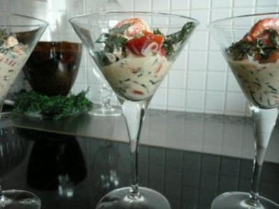 GLASFOOD 12:Algensalat mit Krebsfleisch.... - Rezept