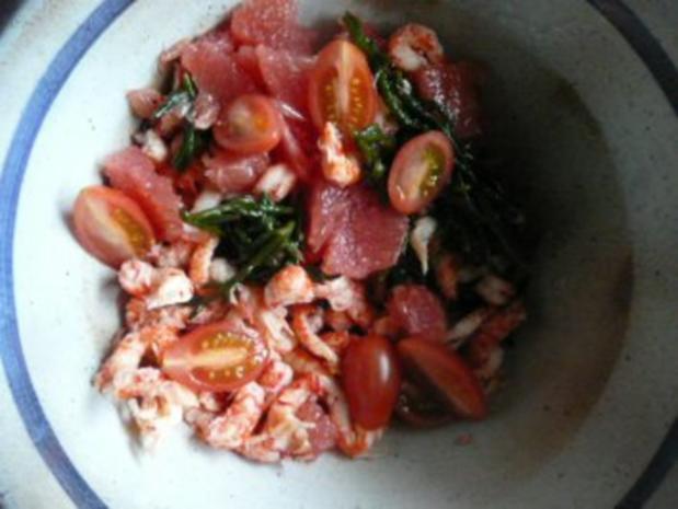 GLASFOOD 12:Algensalat mit Krebsfleisch.... - Rezept - Bild Nr. 8