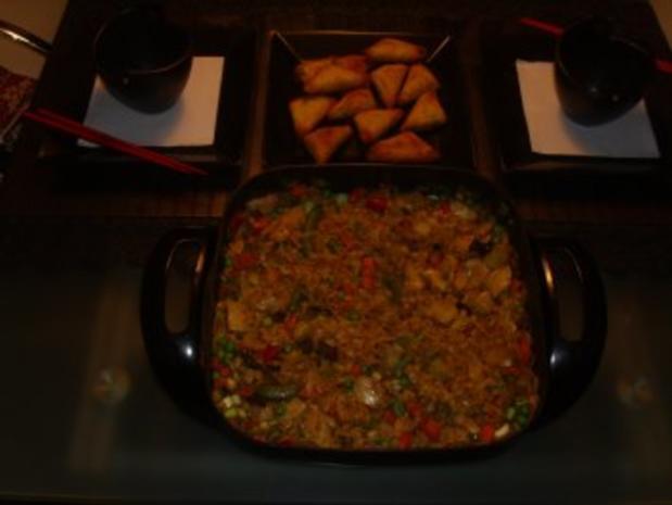 Pfannengerichte: Asiatische Hühnchen-Nudelpfanne - Rezept - Bild Nr. 2
