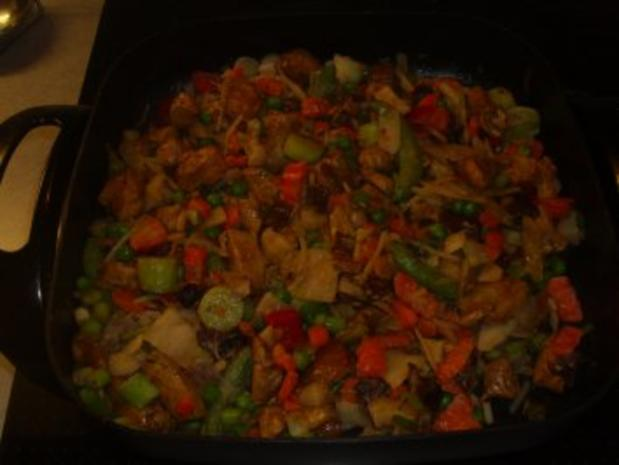 Pfannengerichte: Asiatische Hühnchen-Nudelpfanne - Rezept - Bild Nr. 5