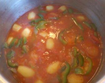 Spanischer Kartoffeltopf - Rezept