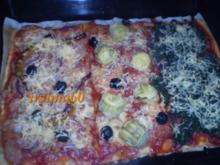 Pizza - Drei auf einen Streich - Rezept
