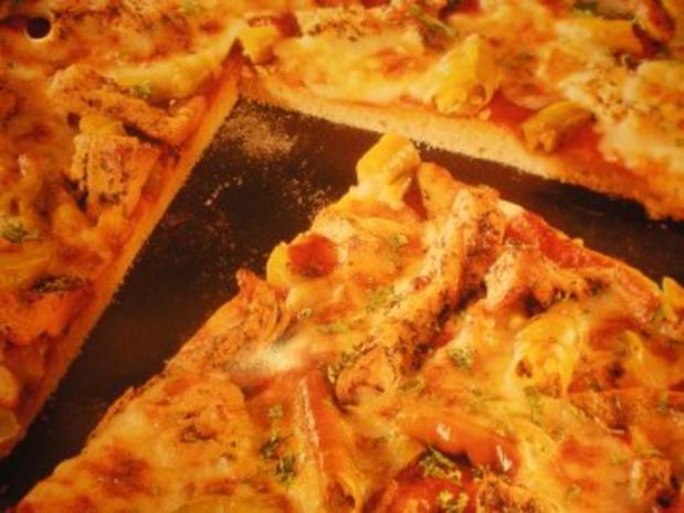 Gyros-Pizza - Rezept