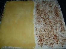 Apfelkompott-Schnitten - Rezept