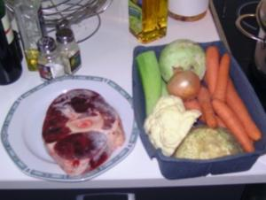 Mein erstes Mal Gemüsesuppe - Rezept