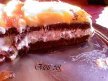 Backen: Stracciatella-Torte mit Mango - Rezept