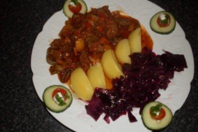 Rezept: Detlef`s Rindfleischragout...