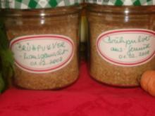 Brühpulver selbst gemacht - Rezept