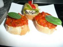 BRUSCETTA-Tomaten - Rezept