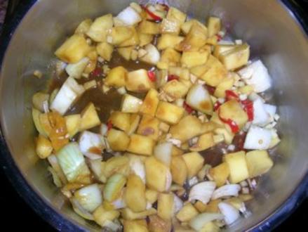 Mango Chutney - auch als Beilage für Wild geeignet - - Rezept