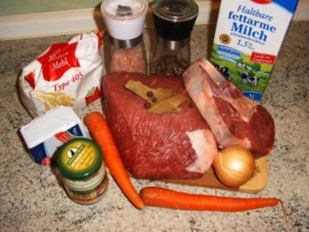 Meerretichsoße mit Rindfleisch - Rezept - Bild Nr. 2