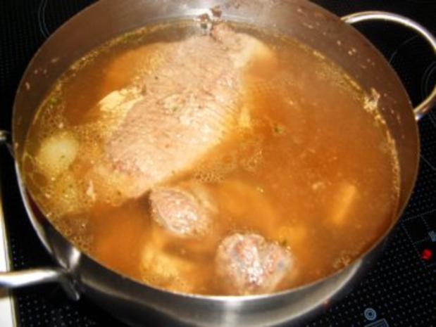 Meerretichsoße mit Rindfleisch - Rezept - Bild Nr. 4