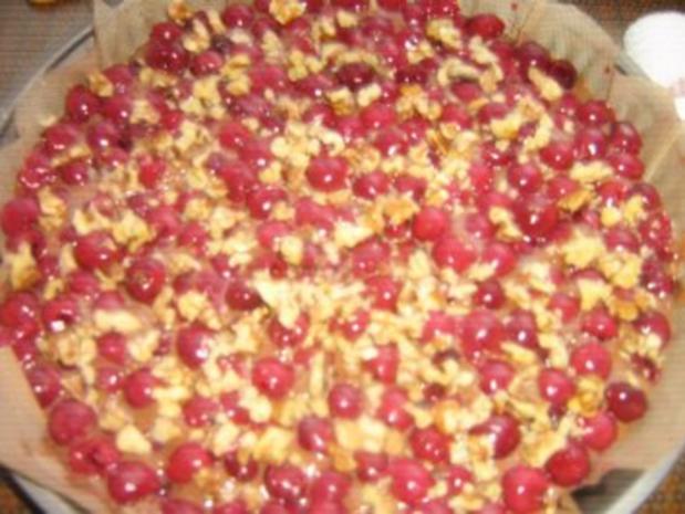 Kirschtarte mit Datteln und Walnüssen - Rezept - Bild Nr. 4