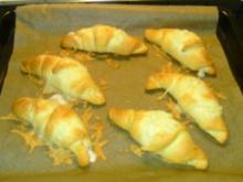 Schinken-Käse Croissants - Rezept