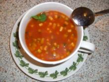Zucchini-Tomaten-Suppe nach Weight Watchers - Rezept