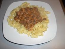 Tomaten - Sahne - Haschee - Rezept