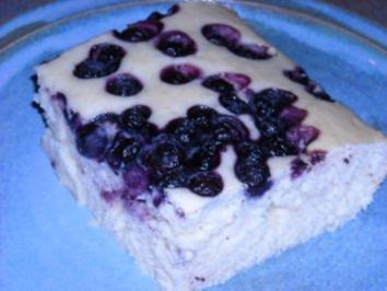 Heidelbeer-Joghurt-Kuchen - Rezept