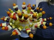 Obstspieße - Rezept