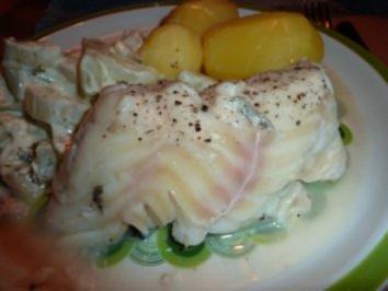 Fisch: Kabeljau an Zitronen-Pfeffer-Sauce - Rezept
