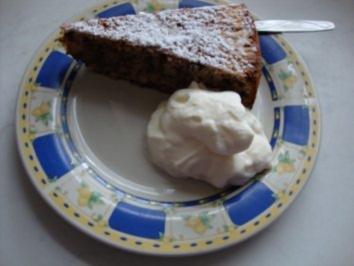 Haselnuss- Topfenkuchen - Rezept