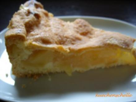 Apfel-Wein-Torte mit Decke - Rezept