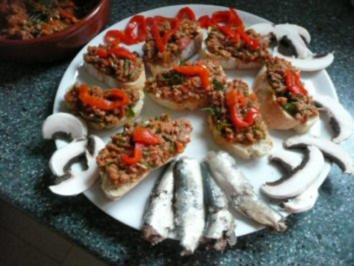 BRUSCETTA-Thunfisch-Tatar-Tomaten - Rezept